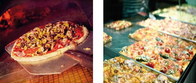 Die ideale Ausrollteigmaschine für Maxi Pizza oder Pizza am Stück